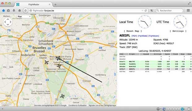 raspberry pi   dump1090  u0026 flightradar24   surveiller l