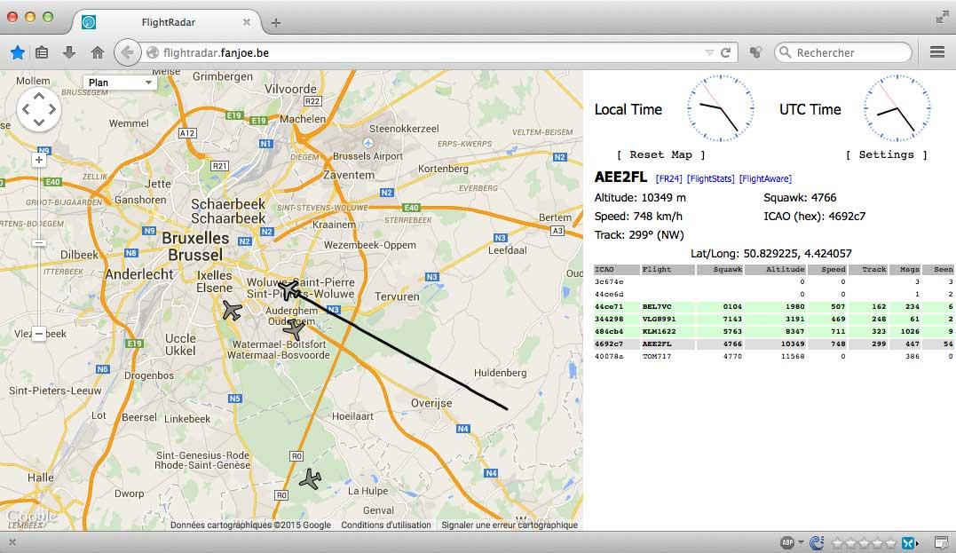 Raspberry Pi : DUMP1090 & FlightRadar24 : Surveiller l'espace aérien