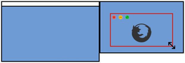 Osx ouvrir firefox en plein cran sur le moniteur for Reduire fenetre mac