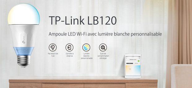 Test : Ampoule TP-Link LB120