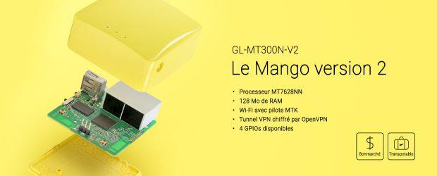 Test du Router GL.iNet Mango GL-MT300N-V2